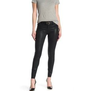 Articles of Society Faux Leather Coated Skinny